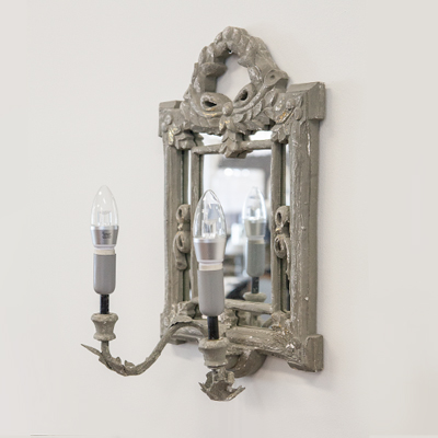 Mirror frame vintage wall lamp (1233)