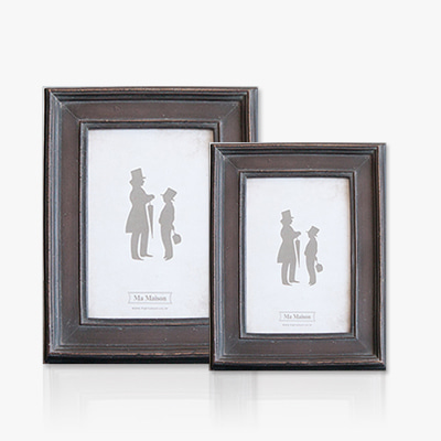Modern dark brown photo frame (K23F068W, K23F068A)