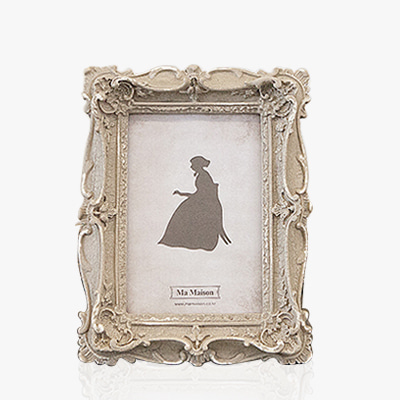 Antique beige grand photo frame  (K23F125W)