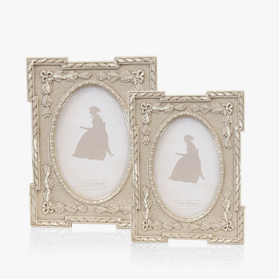 Fancy sculpture photo frame (K23F113A,K23F113W)