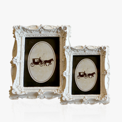 2 sizes of white photo frame (K23W388WJ, K23W389TJ)