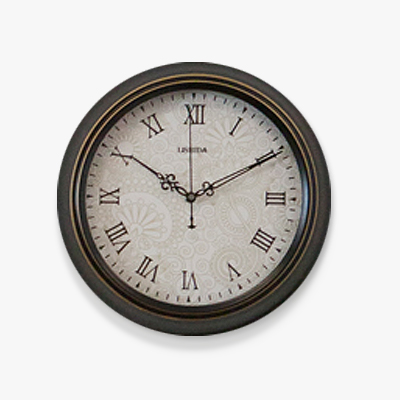 Line work print wall clock (CHG301-1)
