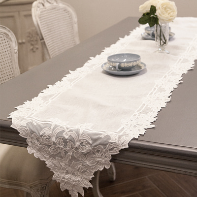 Pointed table runner (TRMV9)