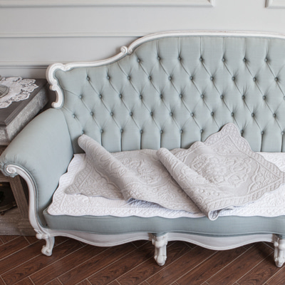 Louis sofa pad in cotton