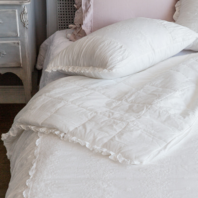Cameo quilted duvet cover
