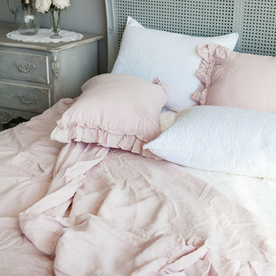 Chantilly linen duvet cover