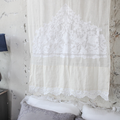 Window point Linen curtain (CUMV25)