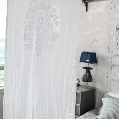 Window point Linen curtain (CUMV21)