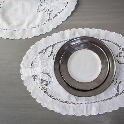 Oval placemat (PMMV13)
