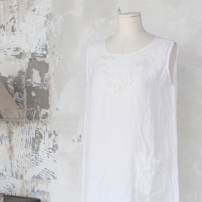 Linen one piece homewear (NGMV12)