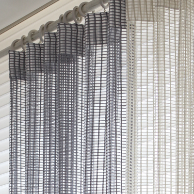 Big waffle curtain (BW-CUMV1) / (2sizes)