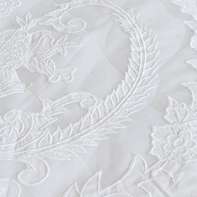 Fancy embroidery quilted-duvet cover (VI-DULA3)