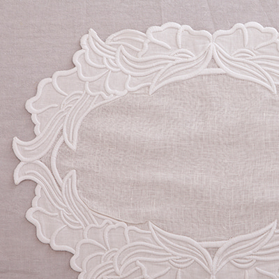 Strong embroidery placemat (PMMV8)