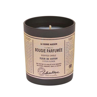 la bonne maison cotton flower scented candle 160g