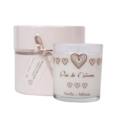 love scented candle 140g