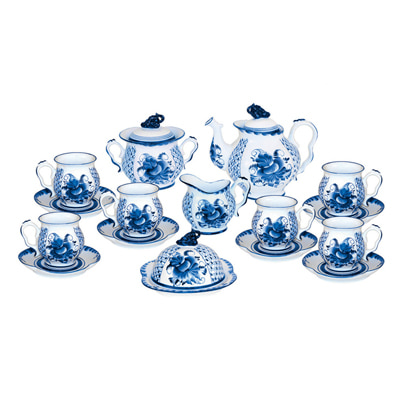 Tea set Rhapsody in blue 993003511