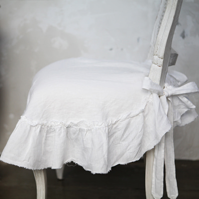 Vintage linen chair cover (CCMV4)